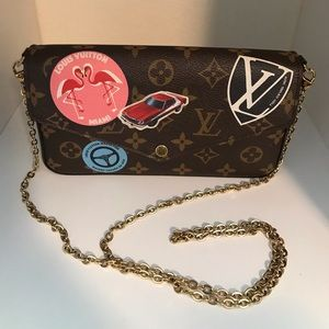 Louis Vuitton world tour Felicie crossbody